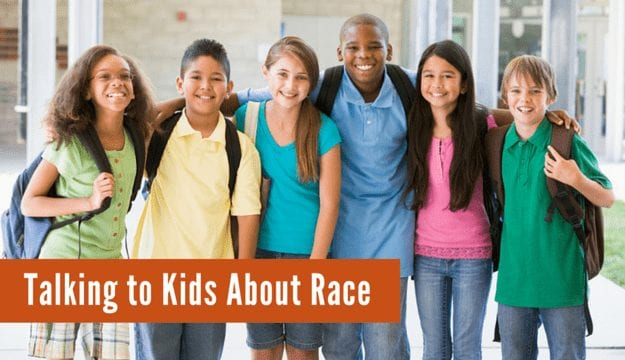 talk to your kids about race