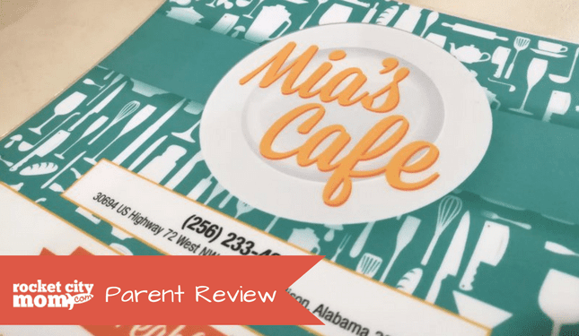 Mia's Cafe parent review