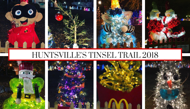 Tinsel Trail trees