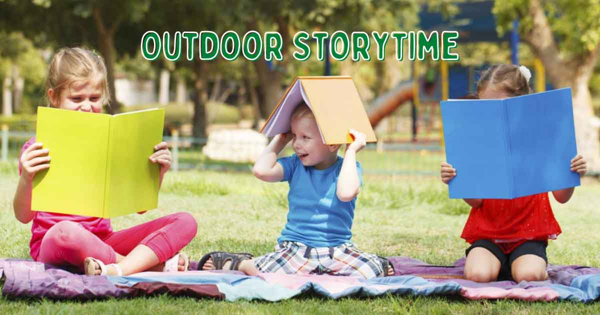 Outdoor Storytime at Downtown Library | Rocket City Mom